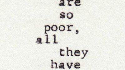 Leven zonder geld