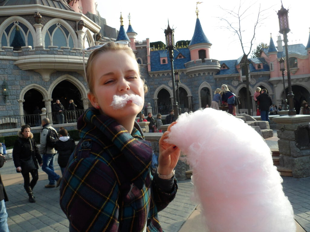 low budget in Disneyland